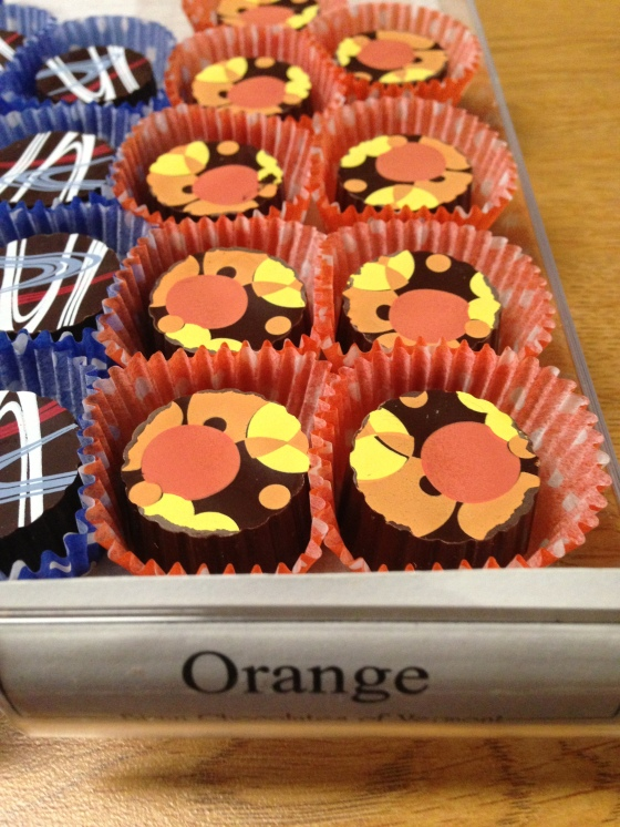 That classic mixture of orange and chocolate, these truffles from Birnn are the perfect treat all year round.