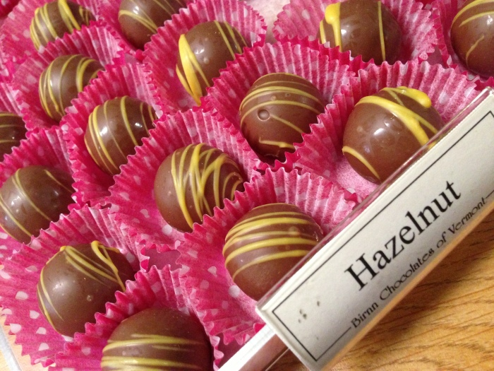 That same flavor you love in your morning coffee is available in these amazing hazelnut truffles.