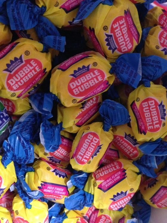 We have an amazing assortment of gum, including the ever-popular Double Bubble.